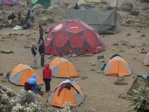 Campsite - Mess tent