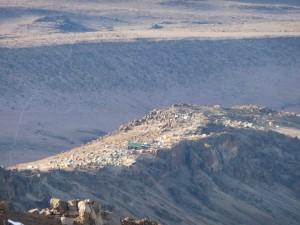 High altitude camping - Kilimanjaro